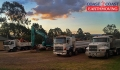 Storing trucks and combos in the yard - Ipswich