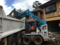 Loading the tipper with rubbish - Camira Ipswich