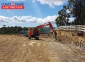 Cutting a House Pad - Maudsland