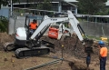 5t Machine Drilling Piers - Springfield Lakes Primary School