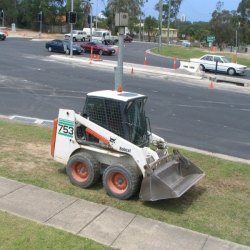 Hire a bobcat from Coast2Coast Earthmoving, Gold Coast, Brisbane, Sunshine Coast, & Tweed Coast
