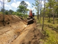 Excavator Drain Work - 50 Acre Property