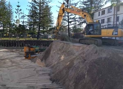 Sand Excavation - Mermaid Beach