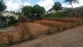 Before and after terraced backyard - Ready for retaining