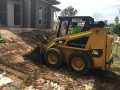 Prepping a driveway with the bobcat - Ripley