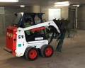 Linc running some green waste out of basement - Chermside