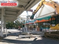 Tearing Down the Service Station - Caltex