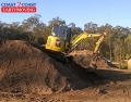 King of the Hill - Matt on his Excavator