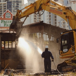 Demolition provided by Coast2Coast Earthmoving Gold Coast, Brisbane, Sunshine Coast and Tweed Coast