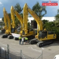 3 of our heavy duty excavators