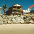 Boulder Sea Wall Construction by Coast2Coast Earthmoving Gold Coast, Brisbane, Sunshine Coast