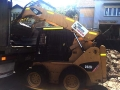 Cat Skid Steer loading soil - Coorparoo Brisbane