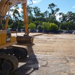 Building pads provided by Coast2Coast Earthmoving Gold Coast, Brisbane, Sunshine Coast and Tweed Coast