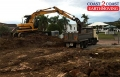 13t Excavator performing a site cut - Mt Ommaney